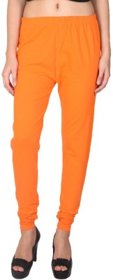 Pee Fashion Women's Orange Leggings
