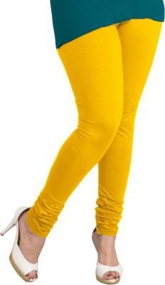 I-Diva Women's Yellow Leggings