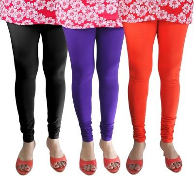 Green Zone Women's Black, Purple, Orange Leggings
