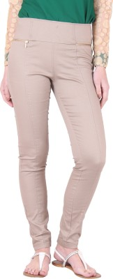 Irene Women's Beige Jeggings