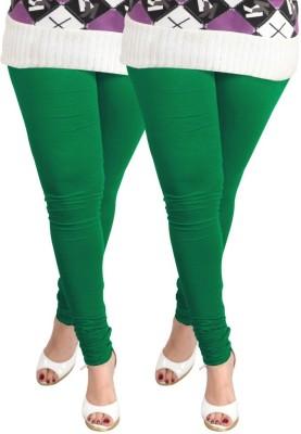 divine creations Women,s Green Leggings