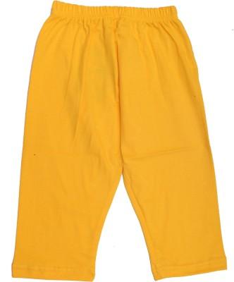 Babeezworld Girl's Yellow Leggings