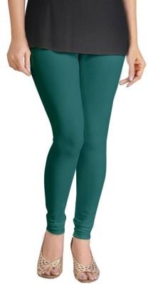 Miss Charming Women's Dark Green Leggings