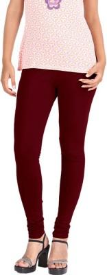 Hbhwear Women's Maroon Leggings