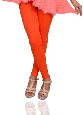 Vama Women's Orange Jeggings