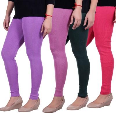 Sellsy Women's Purple, Grey, Pink Leggings