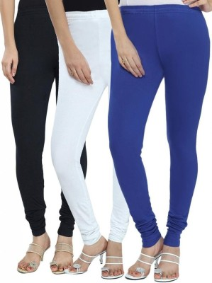 Angel Soft Women,s Black, White, Blue Leggings
