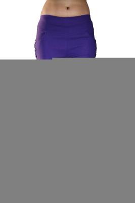 Nisha's Feminine Women's Purple Jeggings