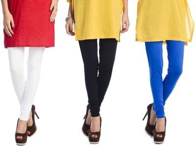 Rupa Softline Women's White, Black, Blue Leggings