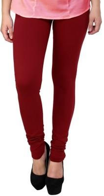 A5 Fashion Women's Maroon Leggings