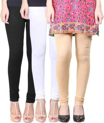 Eshelle Women's Black, White, Beige Leggings