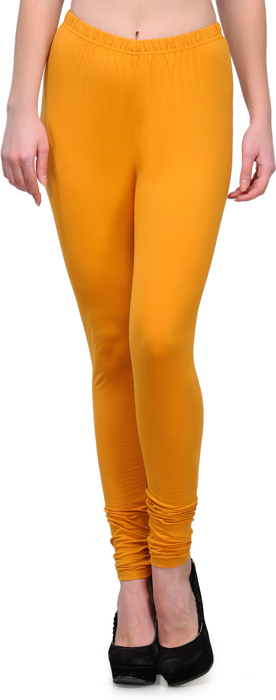 Ffu Womens Orange Leggings