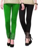 kamalgarments Women's Green, Black Leggi...