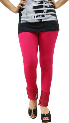 Fashion Kala Women's Pink Leggings