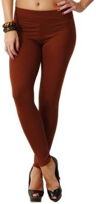 D-manyaa Women's Brown Leggings
