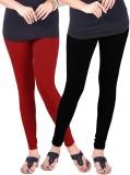 Umesh Fashion Women's Red, Black Legging...