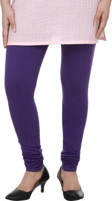 Dlina Women's Purple Leggings
