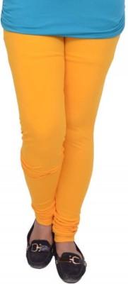 Snoby Women's Yellow Leggings