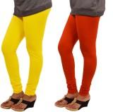 Leggings World Women's Yellow, Orange Le...
