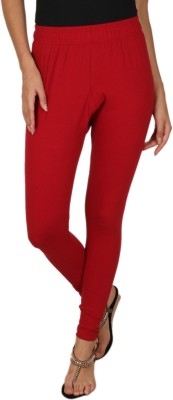 A N, E Women's Red Leggings