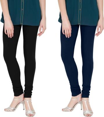Nicewear Women's Black, Blue Leggings