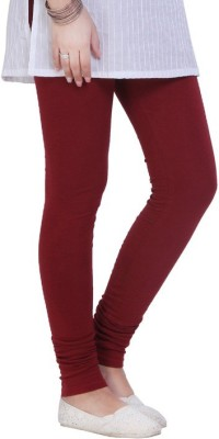 Shree Ji Enterprises Women's Maroon Leggings