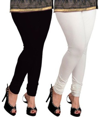 Shree Ji Enterprises Women's White, Black Leggings
