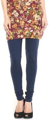 HAPPYSHOPP Women's Dark Blue Leggings