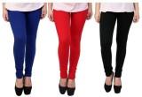 Carrol Women's Blue, Red, Black Leggings...