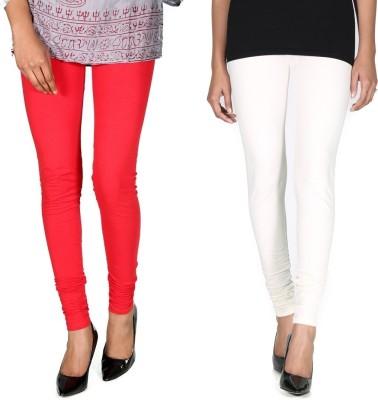 Ally Of Focker Women's Red, White Leggings