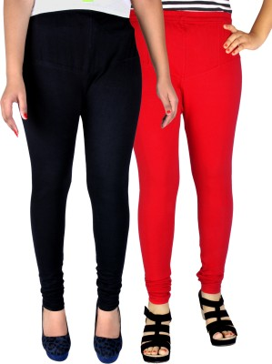 Dolphin Women's Red, Black Leggings