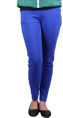 Vivid Bharti Women's Blue Jeggings