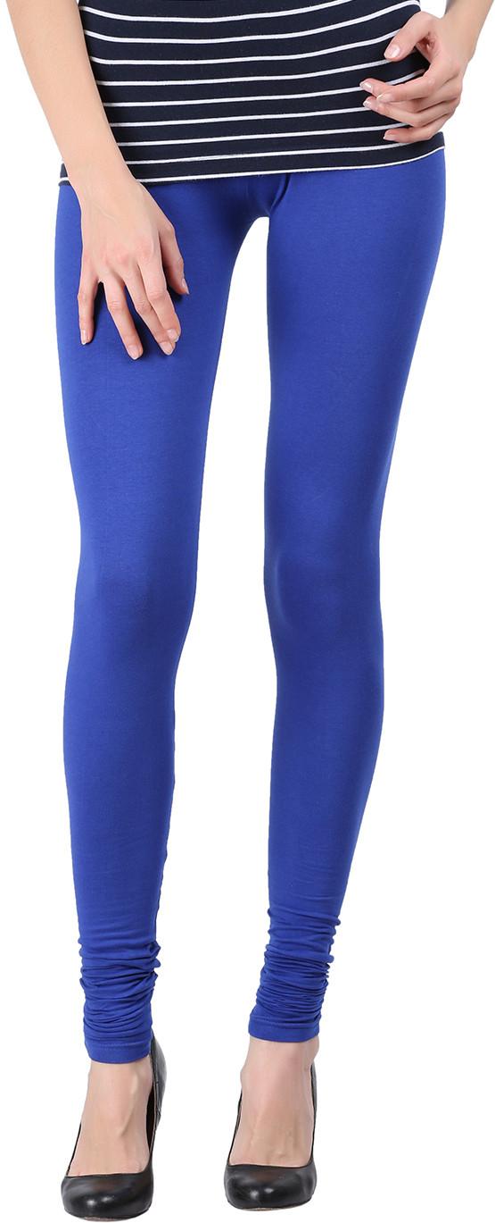Black Milan Womens Blue Leggings