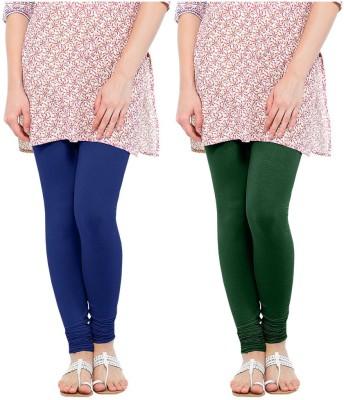 Oh Fish Women's Blue, Green Leggings