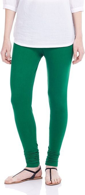 Dhanlaxmi Womens Green Leggings