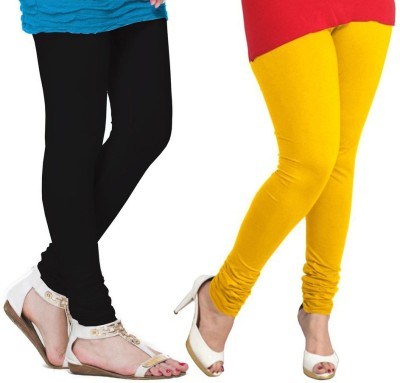 VP Vill Parko Women's Yellow, Black Leggings