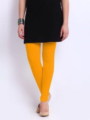 Red Rose Women's Yellow Leggings