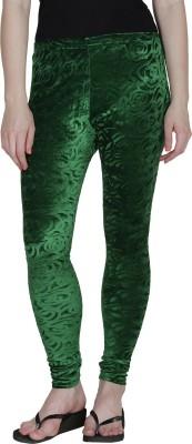 Franclo Women's Dark Green Leggings