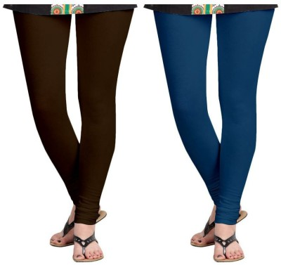 Roshni Creations Women,s Purple, Brown Leggings