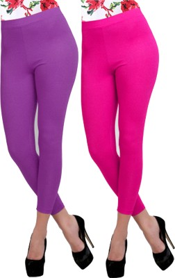Carrol Women's Purple, Pink Leggings