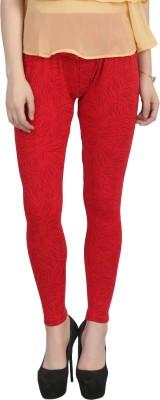 NTCreation Girl's Red Leggings