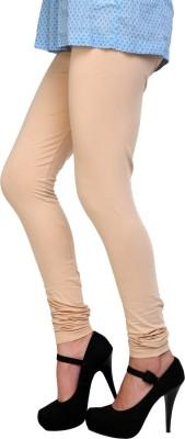 Scorpio Fashions Women's Beige Leggings