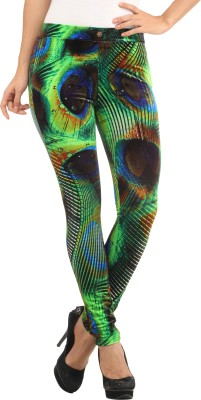 Lotus Women's Multicolor Jeggings