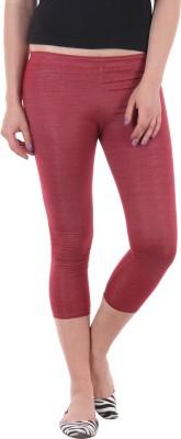 SS Women's Maroon Leggings