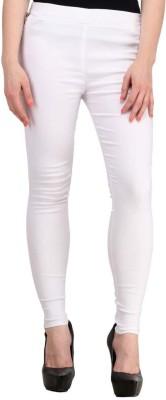 Fashion Arcade Women's White Jeggings