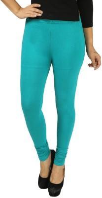 Shopdayz Women's Light Green Leggings