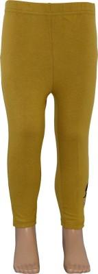 Chhota Bheem Girl's Brown Leggings