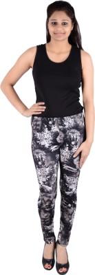 Fora Fashion Women's Black, White Leggings
