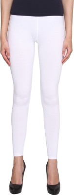 Jainam Girl's White Leggings
