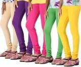 Jainam Women's Blue, Multicolor Leggings...